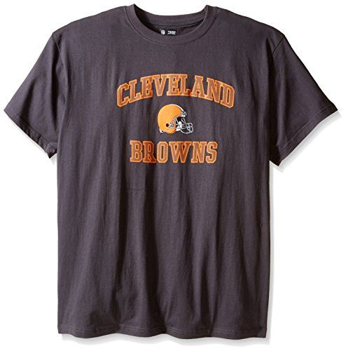 NFL Cleveland Browns Men's Big and Tall Heart and Soul T-Shirt, 4X-Large  https://allstarsportsfan.com/product/nfl-cleveland-browns-mens-big-and-tall-heart-and-soul-t-shirt-4x-large/  Screen printed NFL cotton logo tee Wear your favorite team with pride Nice option to traditional team color