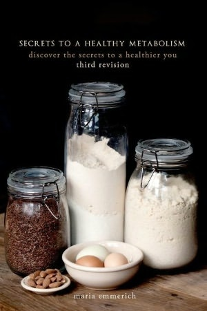 I want to read this...Secrets to a Healthy Metabolism.teaches you how different foods affect your body and then gives healthy substitutions. It's really worth checking out! Here is her blog http://mariahealth.blogspot.com/