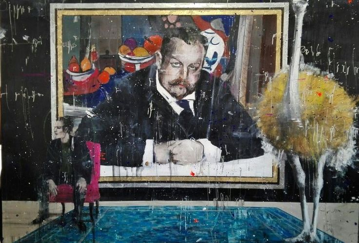 Angelo ACCARDI - Painting - Frankenstein