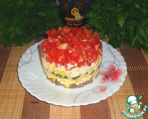 """Яичный салат """"Острый"""" - кулинарный рецепт"""