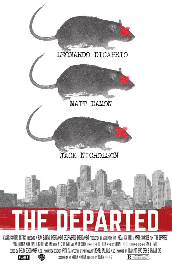 The Departed (Martin Scorsese 2006) [alternative movie poster]