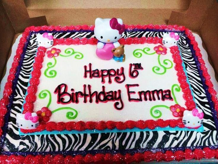 Zebra Birthday Cakes At Walmart