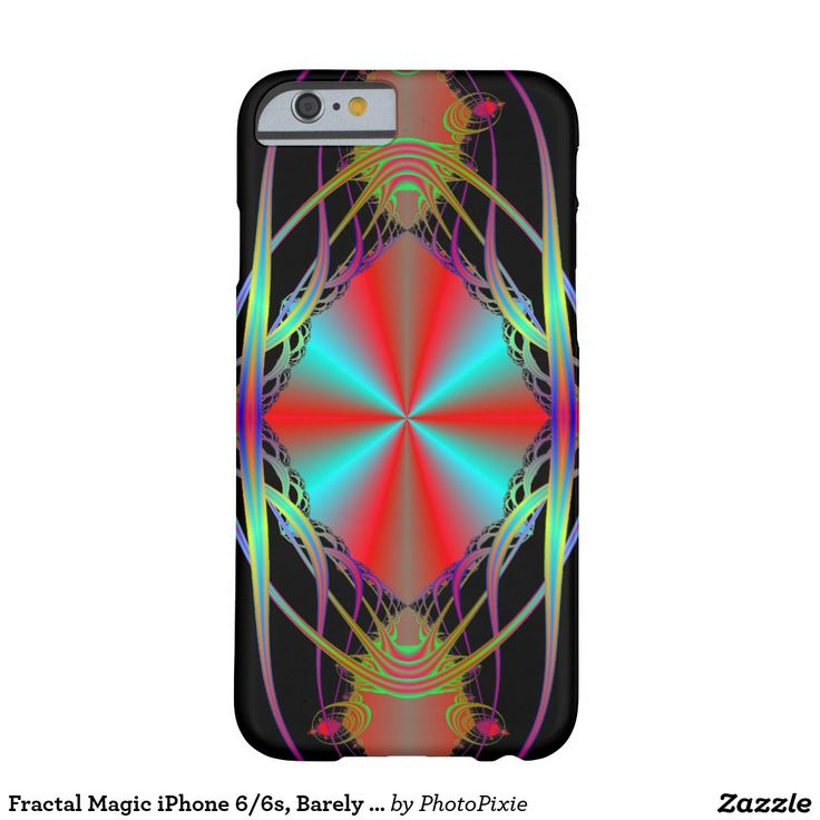 Fractal Magic iPhone 6/6s, Barely There Phone Case
