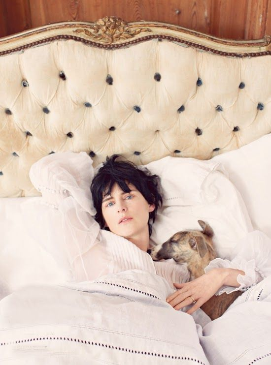 Berwickshire Stella Tenant by Bay Garnett for Vogue UK