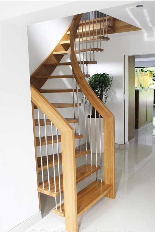 Floating Timber Stair Gallery