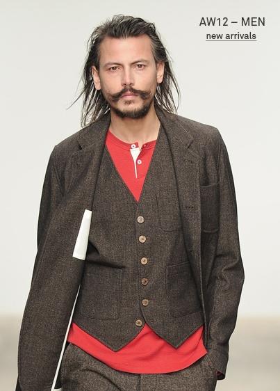Uniform - Oli Spencer - basically a modern take on the old 1930's butcher uniform!
