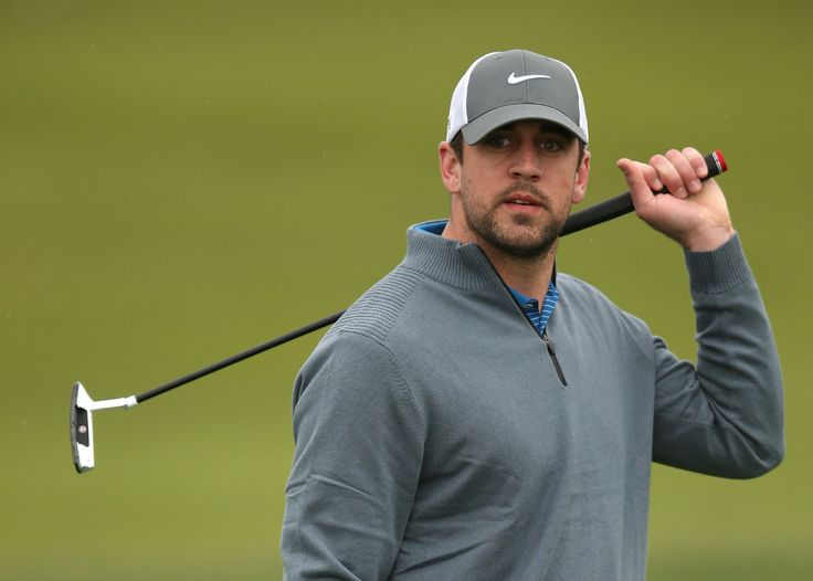 Aaron Rodgers Photos: AT&T Pebble Beach National Pro-Am: Round 2