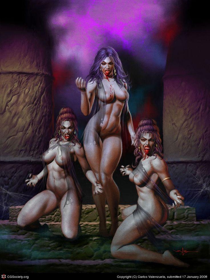 Erotic fantasy horror