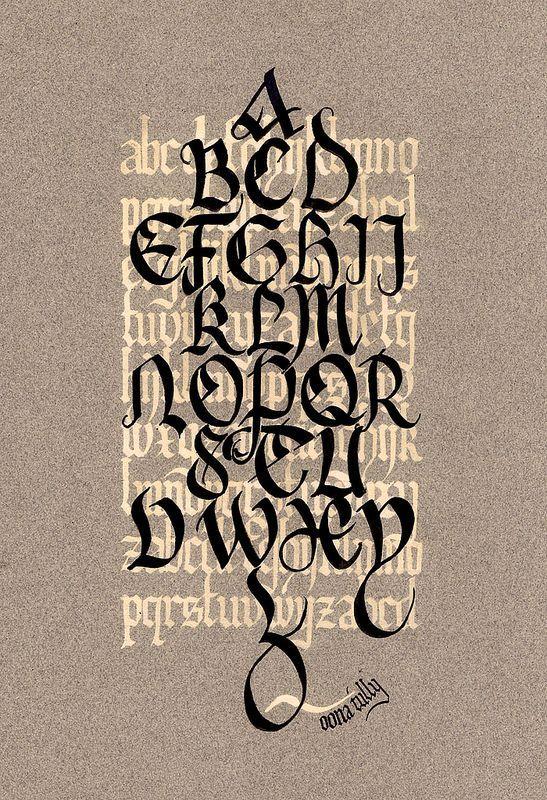 Image result for black letter gothic modern