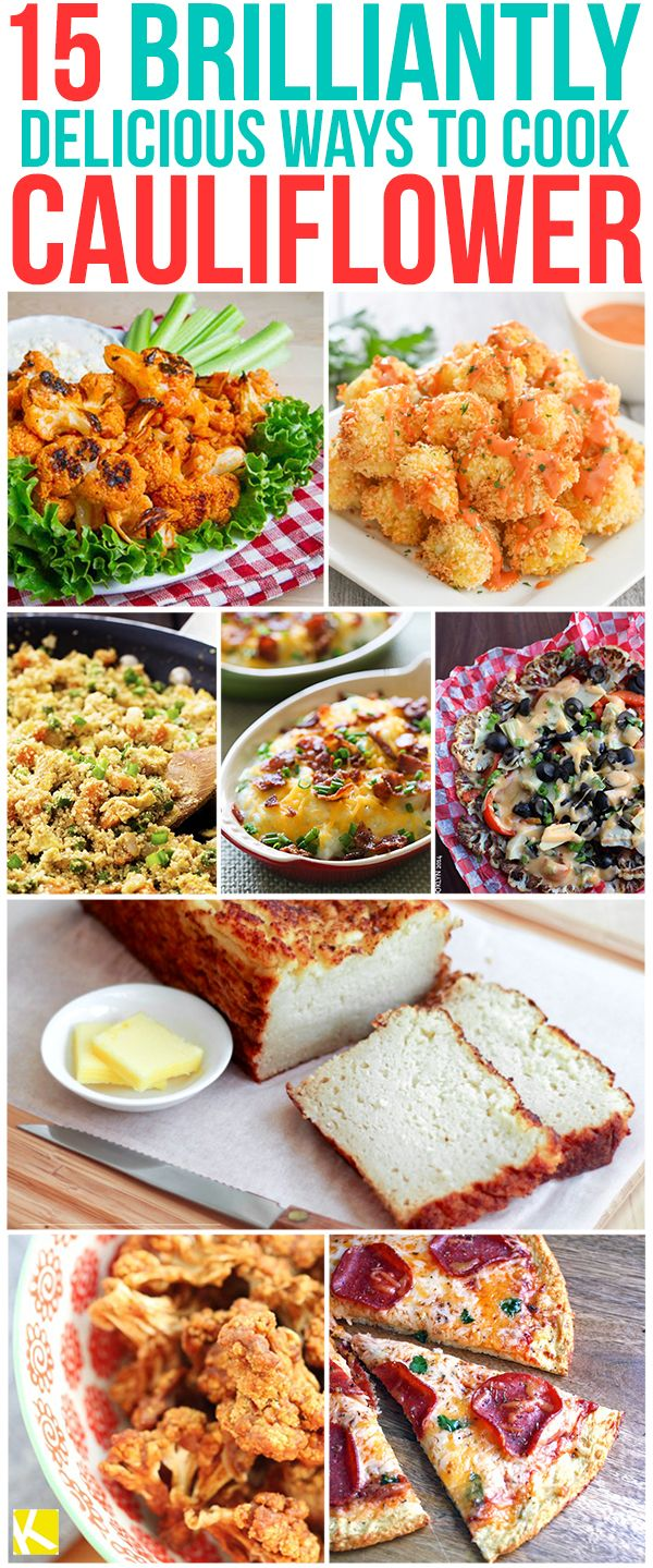 15 Best Cauliflower Recipes That You Need to Try Right Now
