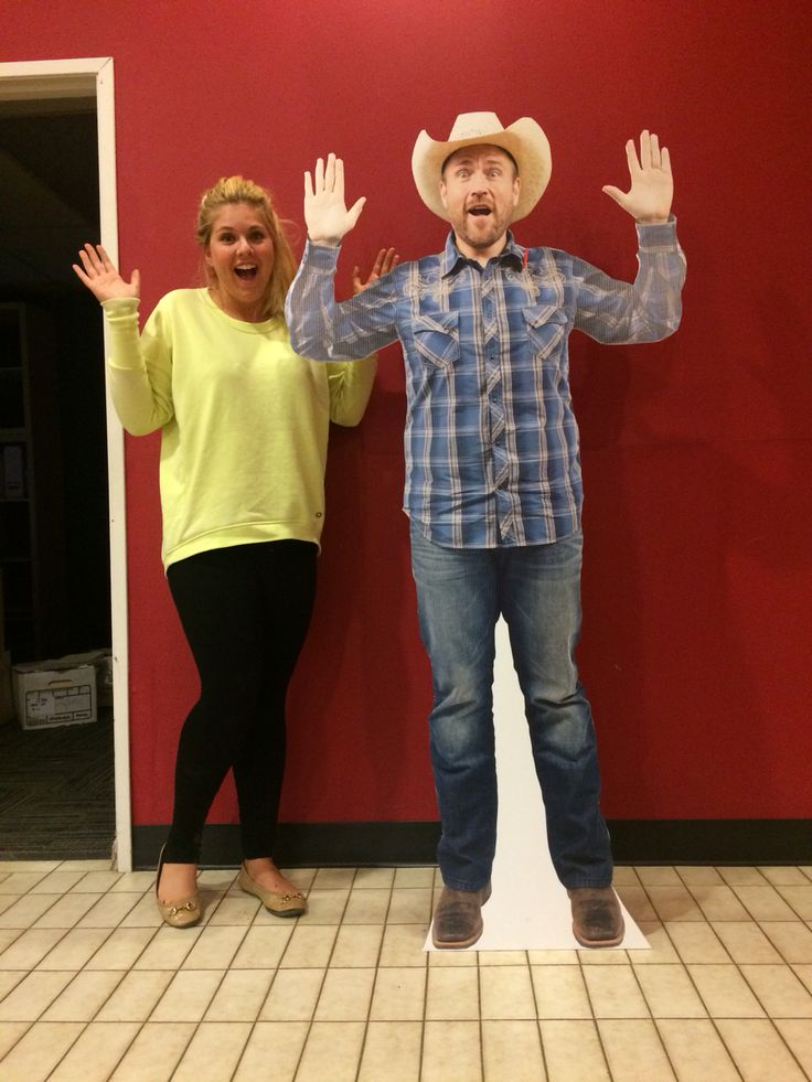 Life size cutouts for any occasion!