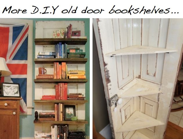 old-door-bookshelves.jpeg (630×480)