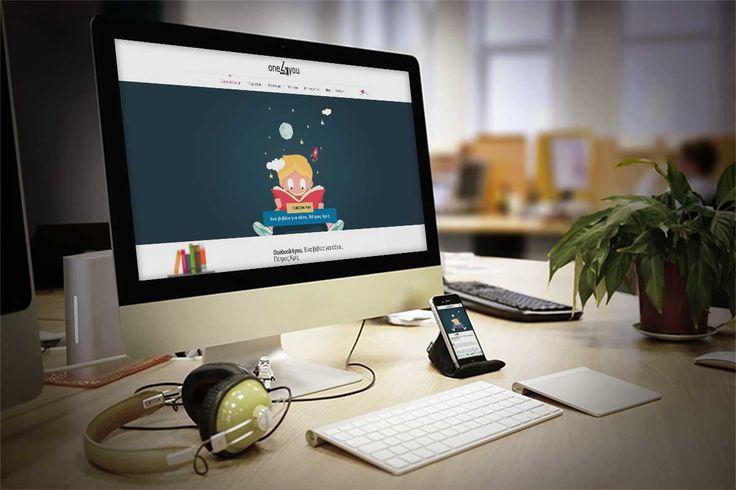 Onebook4you – Σχεδιασμός και κατασκευή e-shop