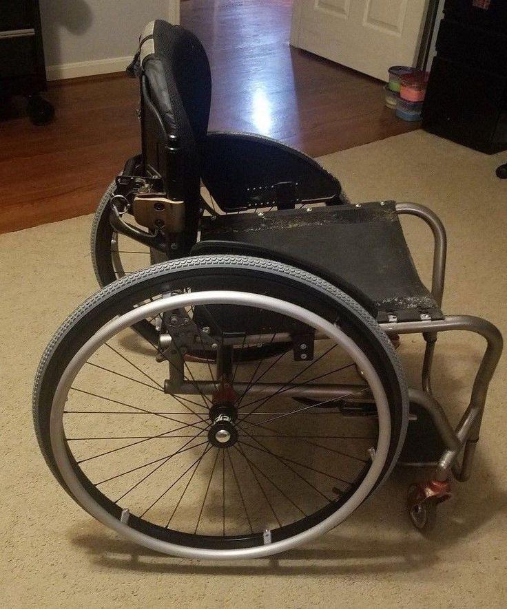 """Ti Lite TR Titanium rigid manual wheelchair 2009 (18"""" wide X 16"""" deep)"""