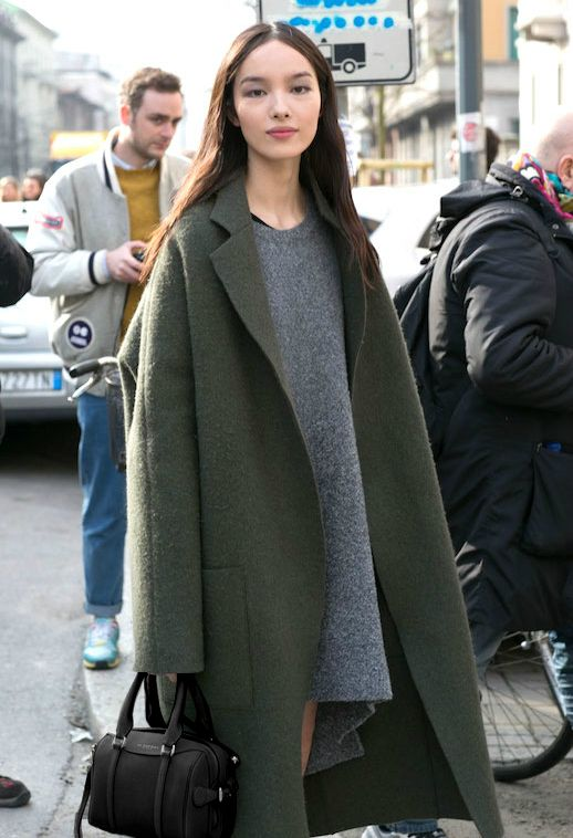 15 Incredibly Stylish Ways To Wear Green Coats And Jackets | Le Fashion…