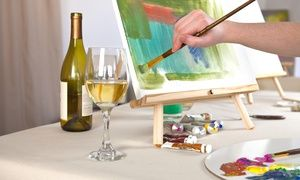 Groupon - Two-Hour BYOB Painting Class for Two or Four at Golden Key Art (Up to 66% Off) in Tarzana. Groupon deal price: $35