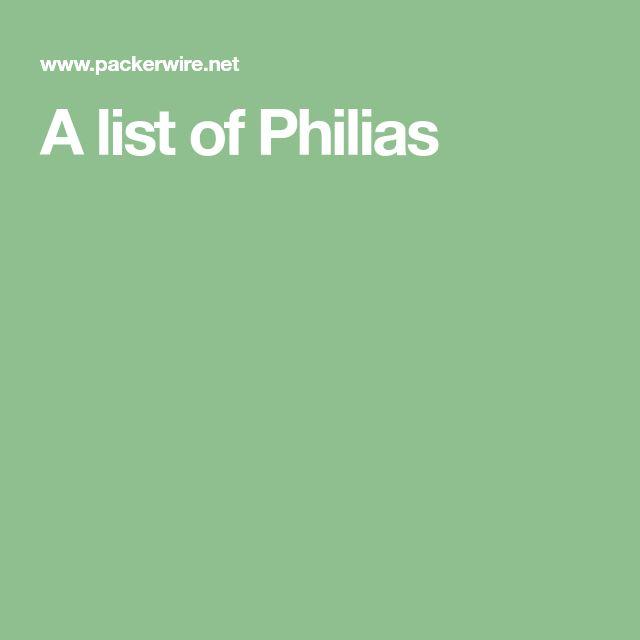 A list of Philias