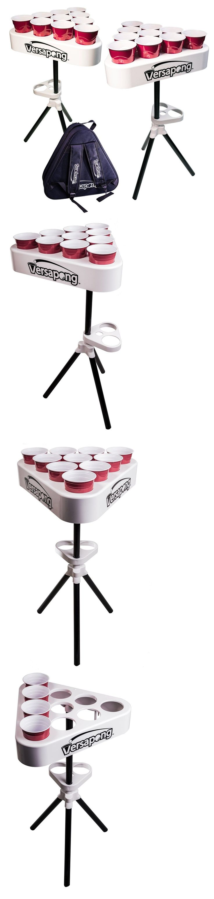 Beer pong table dimensions - Tables 97075 Versapong Portable Beer Pong Table Set Travel Game Outdoor Piece Fordable Black