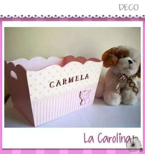 pañalera cajas - regalos para nacimientos - ajuar bebes