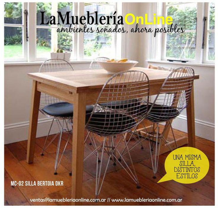 Mejores 7 im genes de bertoia dkr una misma silla for Muebleria on line
