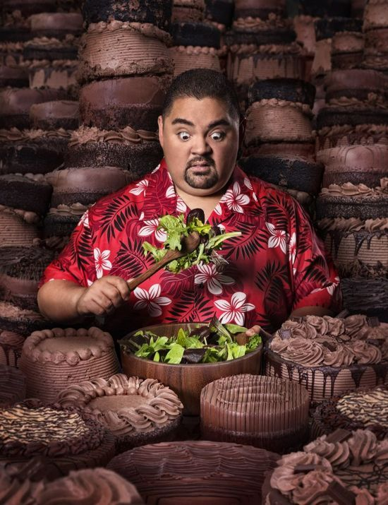 "Gabriel Iglesias ""My friend Fluffy. What up ese?"""