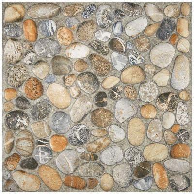 Merola Tile Porcelani Nilo Pebblestone 12 1 5 In X 12 1 5