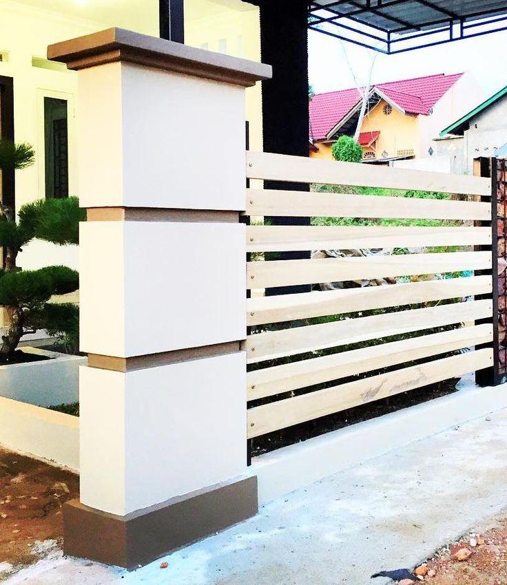 cat pagar rumah minimalis 12
