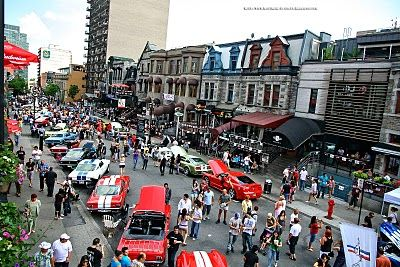 MONTREAL: 11th edition of the Canadian Grand Prix Festival on Crescent Street - Province of Quebec