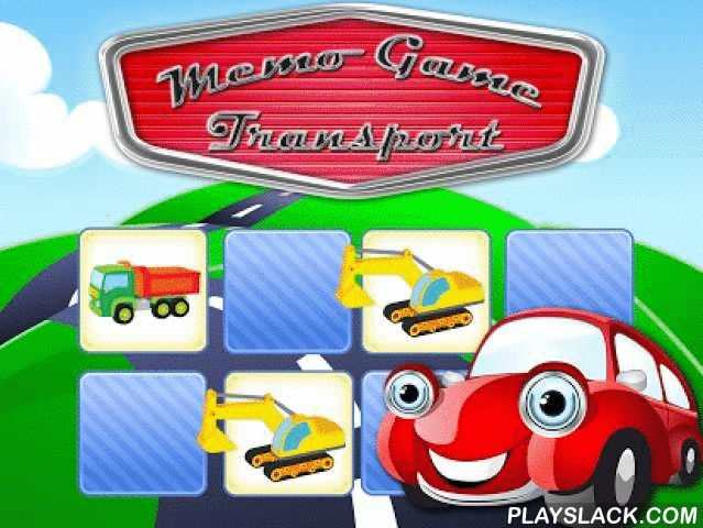 Memo Game Transport Cartoon  Android App - playslack.com , * Awarded with best game for kids of age 2-7 by Mommy's and Daddy's in 2013.* Number 1 in the Educational category in more than eleven countries.This Transport Cartoon Memo game has been developed for young children from age 0 to 10. This memory game entertains your child while training his or her brain at the same time. This game designed for children has great features which help develop your child's cognitive abilities.Try this…