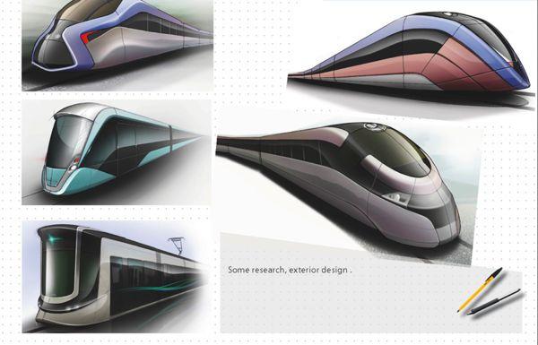 Transportation design by ahmed smaali, via Behance
