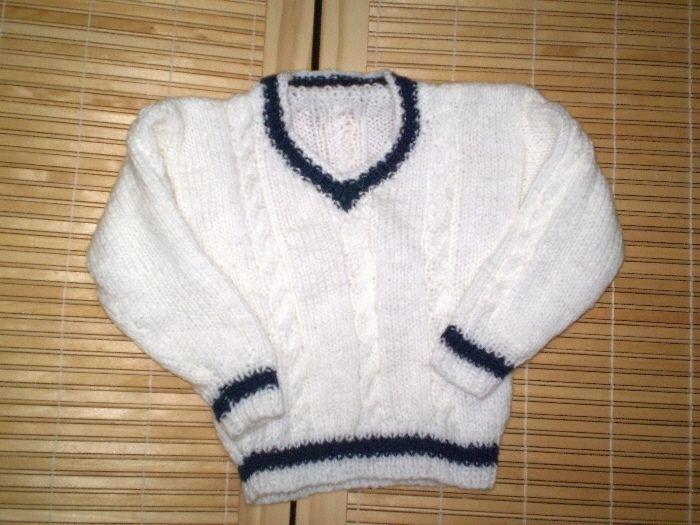 blusas de trico infantil 5