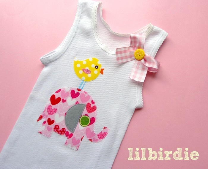 46 best singlet ideas images on pinterest sewing ideas baby i love elephants baby singlet sizes 000 2 by lilbirdieshop on madeit negle Images