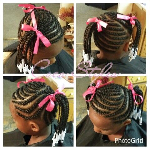 Excellent 14 Lovely Braided Hairstyles For Kids  Pretty Designs