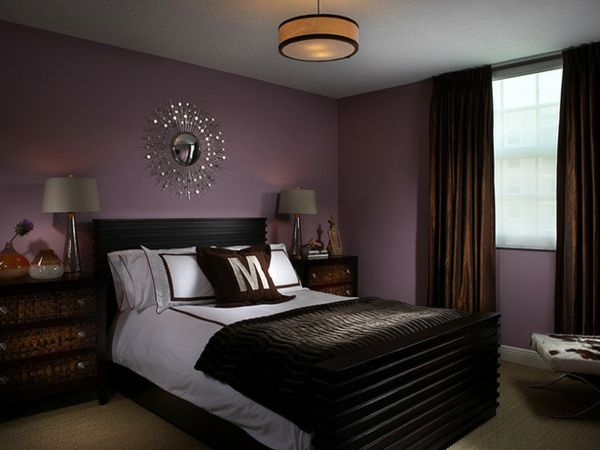 Die besten 25+ braun Schlafzimmer Wände Ideen auf Pinterest