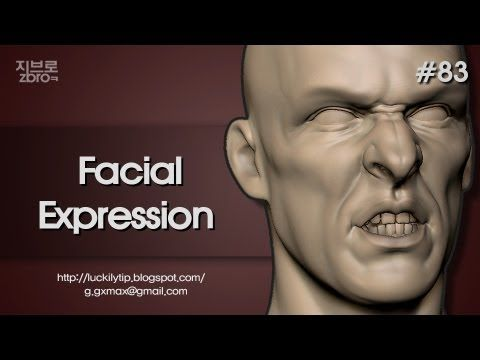 Zbrush Sculpting - Facial Expression - YouTube