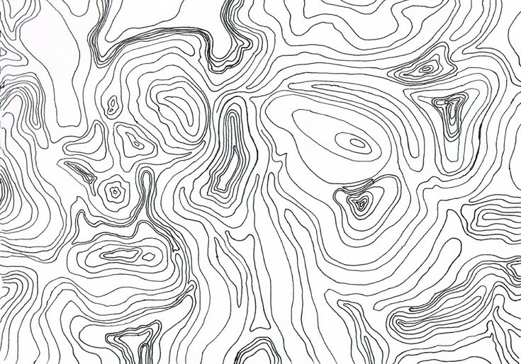 topographic map of a mysterious rash that appeared on my backside
