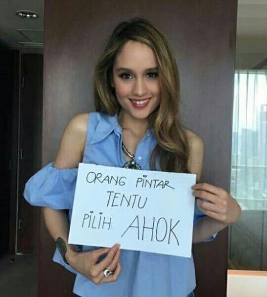 Cinta Laura: Ahok Tetap Yang Terbaik Untuk Jakarta