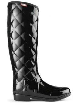 Hunter Regent Savoy Wellingtons Black Boots $73