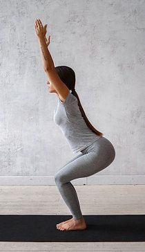 Yoga Pose Stuhl