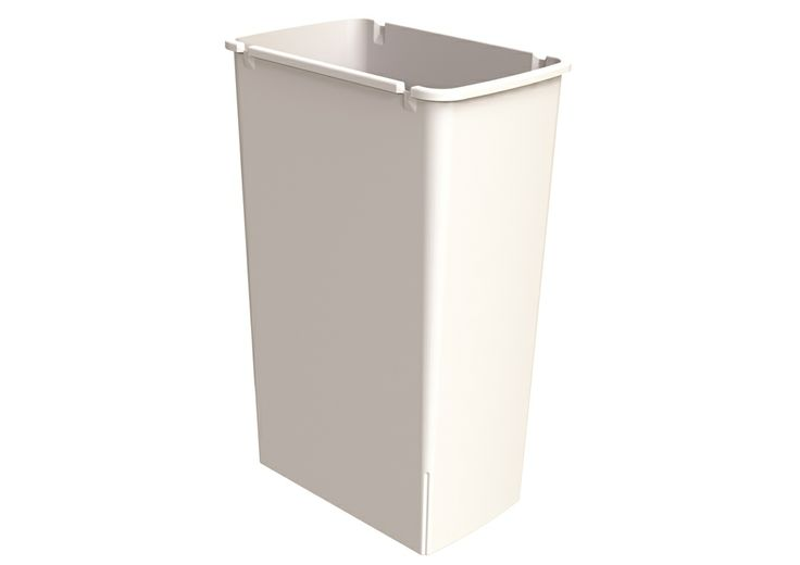 40L Replacement Bucket - Arctic White.
