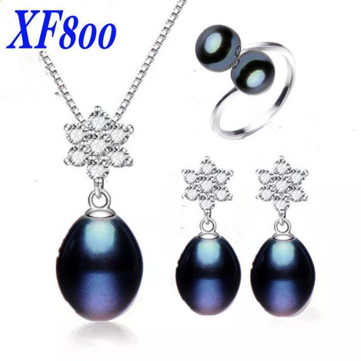 Natural pearl Bridal Jewelry set