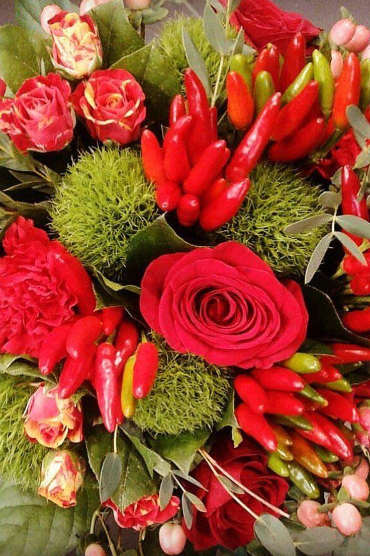 Per una serata speciale, un bouquet di...peperoncini!