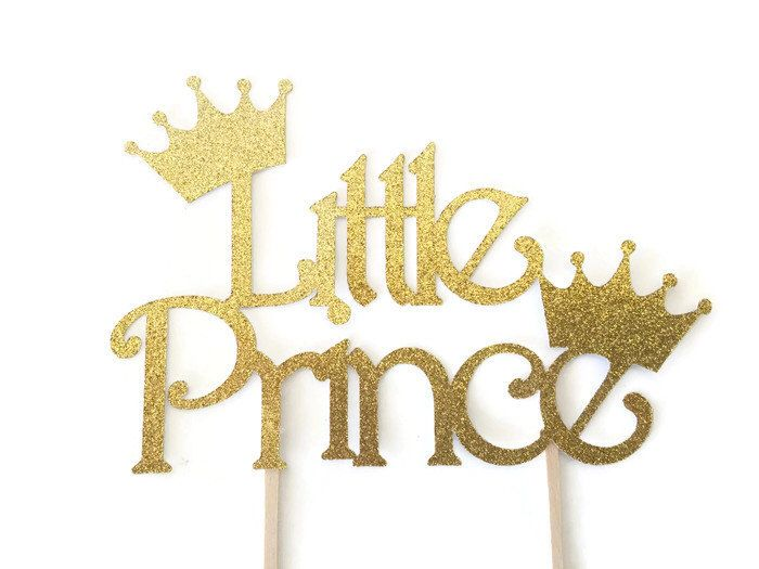 Little Prince Baby Shower Cake Topper, Prince Cake Topper, Deocrations by AllDiaperCakes on Etsy https://www.etsy.com/listing/268993793/little-prince-baby-shower-cake-topper