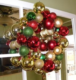 From The Hive: Homemade Christmas decorations