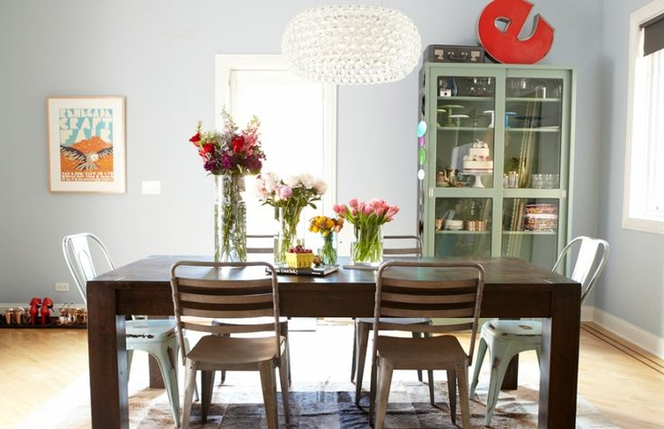 Eva Daiberl's Chicago Townhouse Tour #theeverygirl