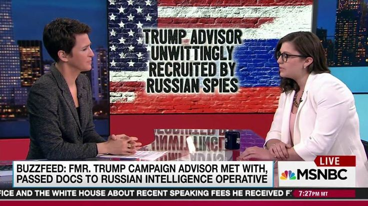 Ali Watkins, national security correspondent for Buzzfeed News, talks with Rachel Maddow about confirming with Carter Page his unwitting contact with Russian spies in 2013, years before he became a foreign policy adviser to Donald Trump.