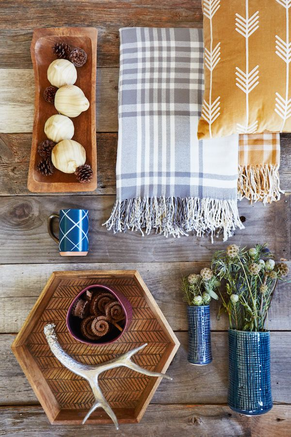 Everything about this is so cozy. I love all of the rich colors. I need that plaid blanket in my life ASAP. First look at Target's 2015 Threshold Fall collection.