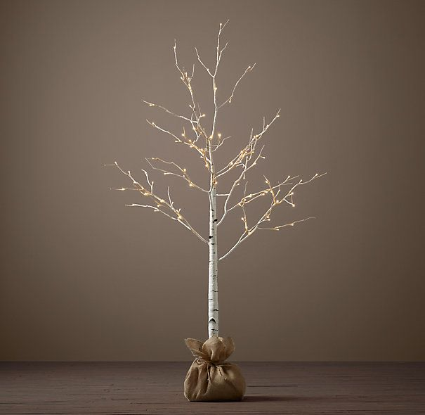 birch lighted tree indoor decor click the picture to buy directly or to underwrite click here. Black Bedroom Furniture Sets. Home Design Ideas
