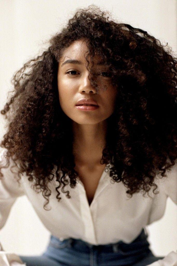 Black Curly Hair White Woman