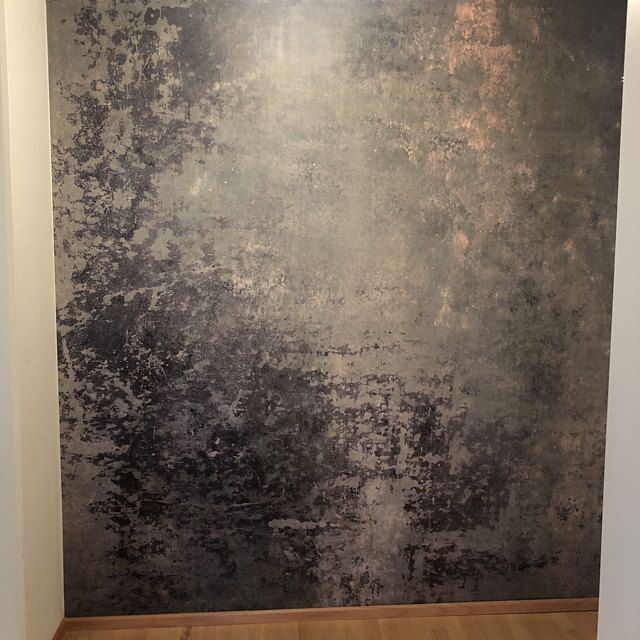 Grey Concrete Wall Mural Is A Repositionable Peel Stick Fabric Material With An Adhesive Back Can Be Installed Wall Murals Textured Walls Concrete Texture